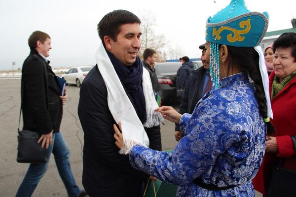 В республику Тыва прибыл первый заместитель председателя Исполкома Всемирного конгресса татар