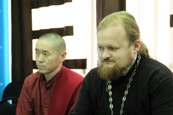 Заседание по подготовке к Буддийско-Православному совету Республики Тыва.