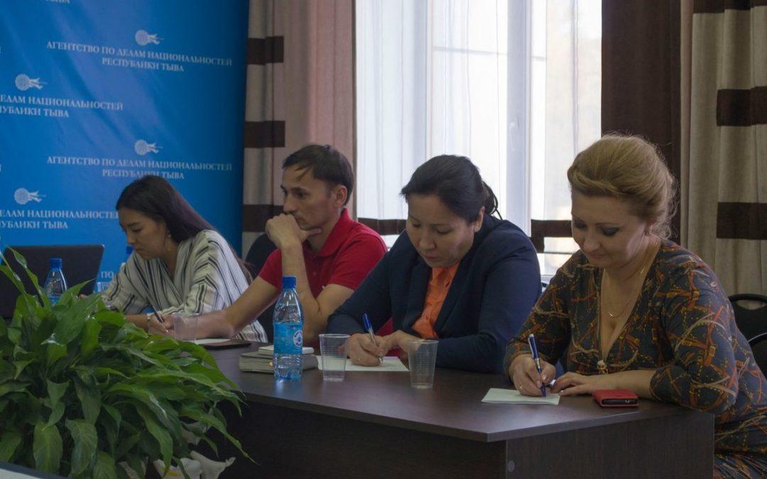 Рабочая встреча с заместителем председателя Ассамблеи народов России Ириной  Галановой