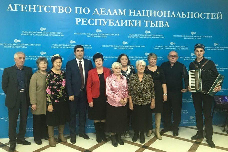 Встреча татарского землячества Республики Тыва