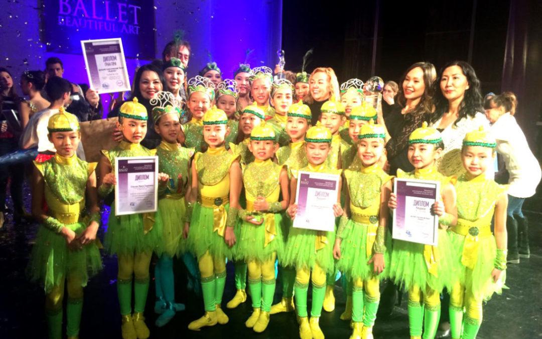 Коллектив Агентства по делам национальностей Республики Тыва поздравляет детский ансамбль классического танца «Алантос».