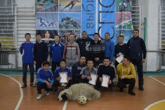 В Хову-Аксы состоялся турнир по мини-футболу среди среди сумонов и организаций кожууна