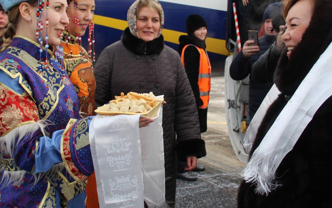 В Республику Тыва с рабочим визитом прибыла Вейсалова Нина Глебовна.