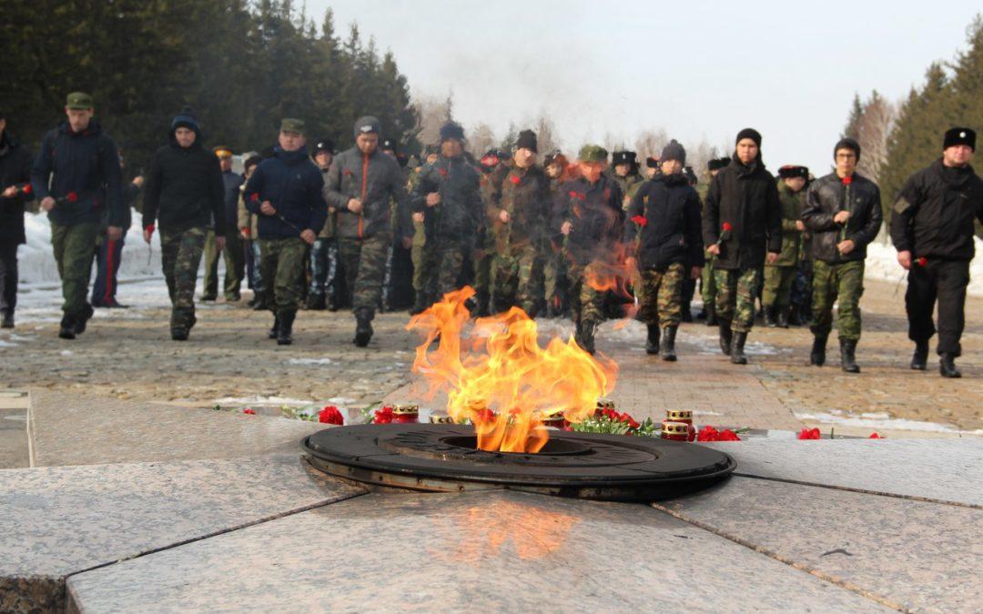 Тувинские казаки поборолись за звание «Лучший казачий кадетский класс Сибирского федерального округа»