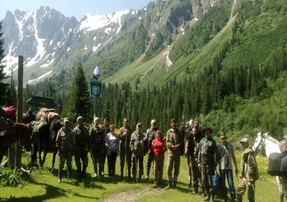 Экспедиция волонтеров на Чойган 2018
