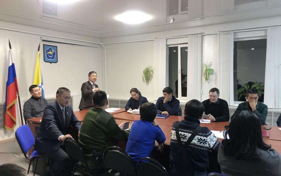 Директор Агентства по делам национальностей Вера Лапшакова приняла участие в выезде рабочей группы в Тоджинский кожуун Республики Тыва.