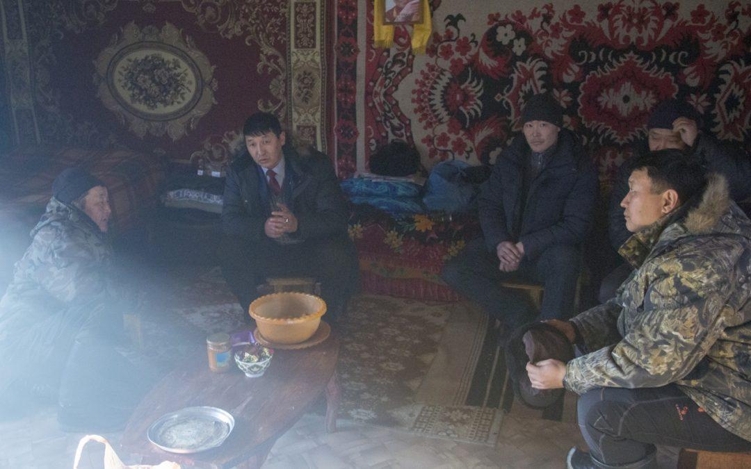 Сотрудники Агентства провели сходы граждан в Монгун-Тайгинском кожууне