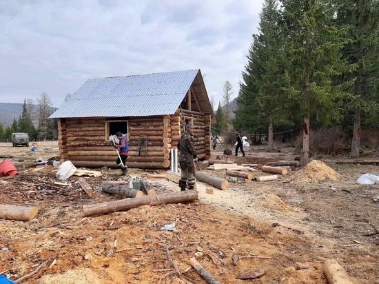 Во исполнение послания Главы Республики Тыва в Тоджинском районе Республики Тува появилась база отдыха для оленеводов.