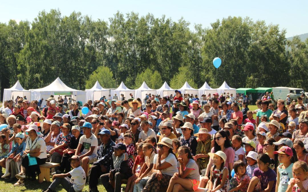 В Тоджинском районе Тувы прошел Международный День коренных народов мира.
