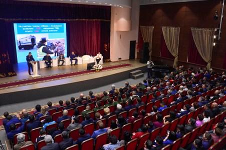 В Туве состоялась региональная конференция по вопросам противодействия преступности