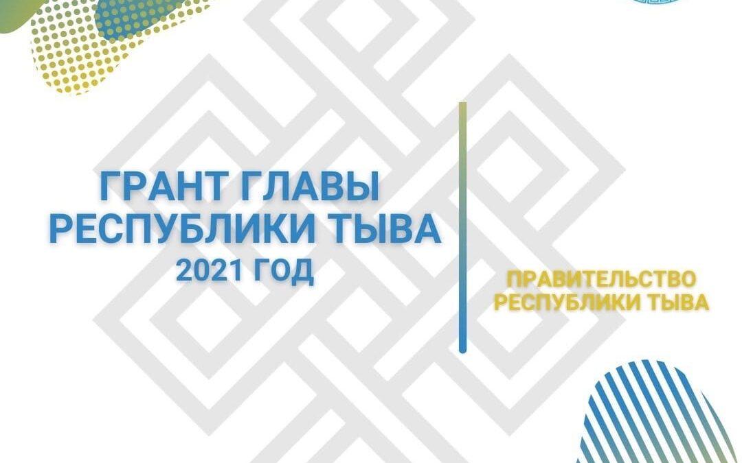 Начат прием заявок на предоставление гранта Главы Республики Тыва 2021